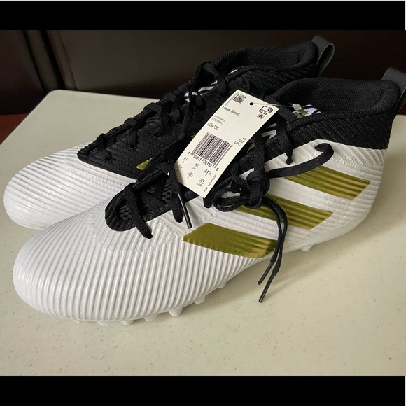 Adidas Freak Ghost WhiteBlackGold Football Cleat